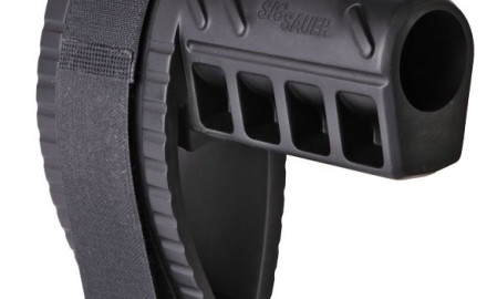 SIG Sauer is following up on the success of its popular SB15 Pistol Stabilizing Brace with the