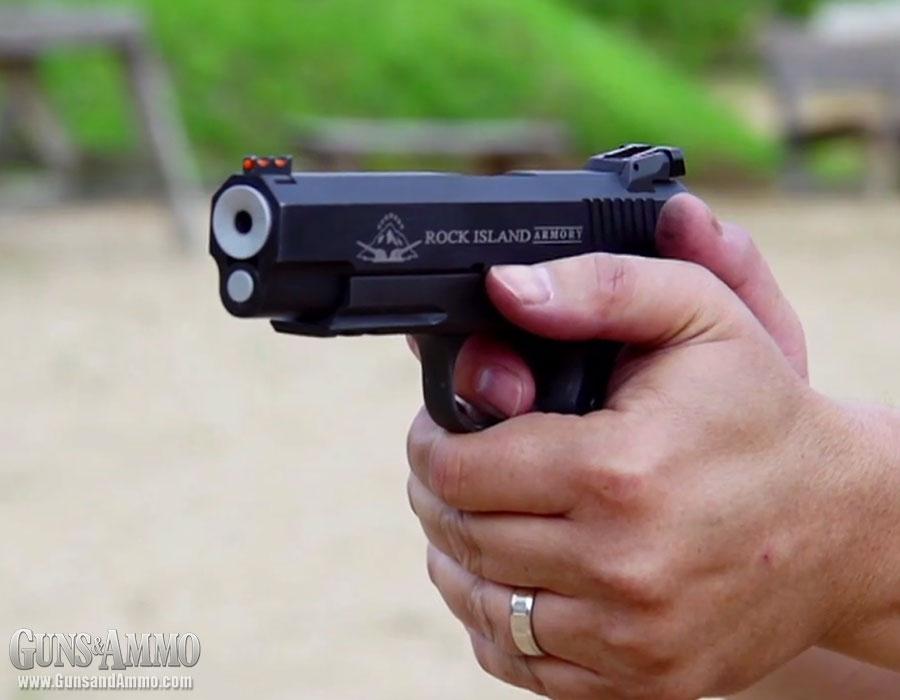 At the Range: Rock Island  22 TCM Pistol & Armscor  22 T
