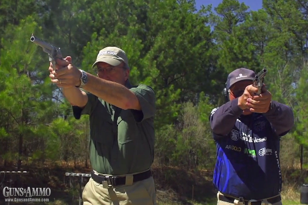 At the Range: Friendly Competition with Jerry Miculek
