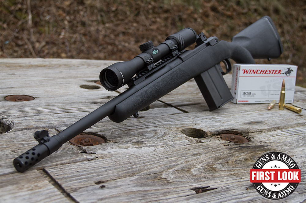 First Look: Ruger Gunsite Scout Rifle with Composite Stock