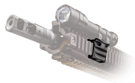 SureFire is introducing two new low-profile, off-set flashlight mounts for 2015 designed for use