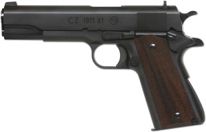 CZ's new 1911A1 - Click to enlarge.
