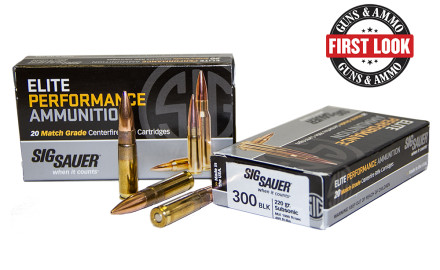 In 2014 SIG Sauer emerged into the ammo market with their introduction of Elite Performance