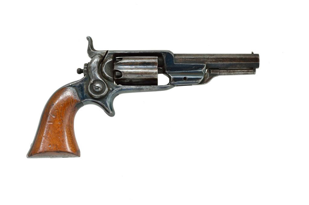 Antique_Elmer_Keith_Colt_revolvers