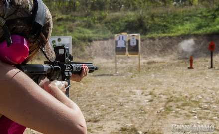 NSSF research shows more women than ever are buying guns and using them regularly. Photo by Sean