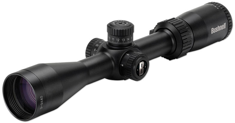 Top your .22LR with this scope for small game hunting or plinking at the range.