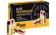 First Look: SIG Sauer FMJ Centerfire Pistol Cartridges