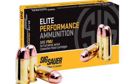 SIG Sauer continues to expand its line of Elite Performance Ammunition to include full metal