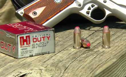 Patrick Sweeney is on the range with Hornady's Dave Emary to talk about their evolving ACP+P