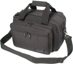 Compact and portable, the Blackhawk Sportster Deluxe Range Bag fits everything you need and nothing you don't.