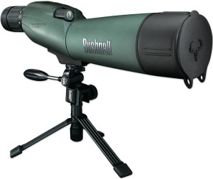 See your targets without leaving the shooting bench with the Bushnell Trophy XLT spotting scope.