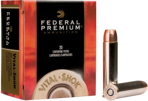 Federal Vital-Shok is the perfect choice for handgun hunters.