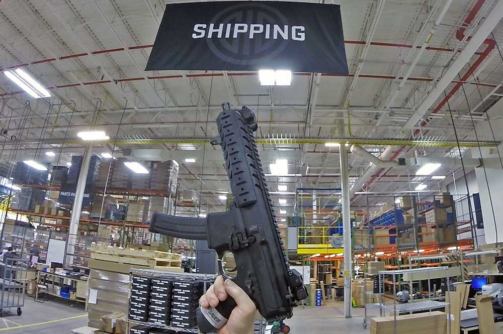 SIG Sauer MPX Now Shipping
