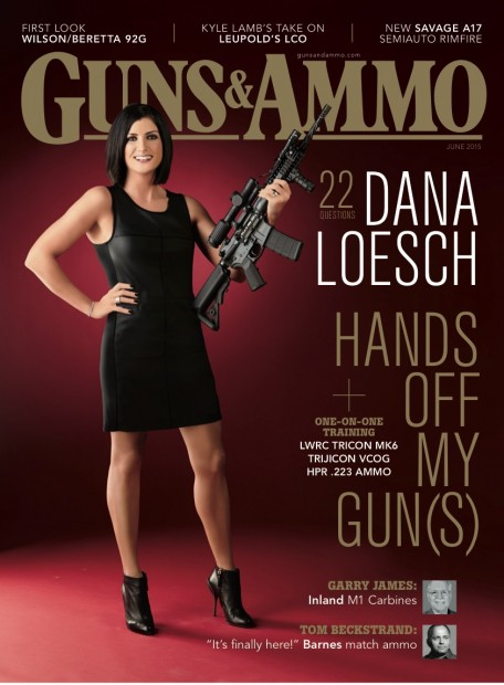 First Woman in 54 Years to Appear on Guns & Ammo Magazine Cover