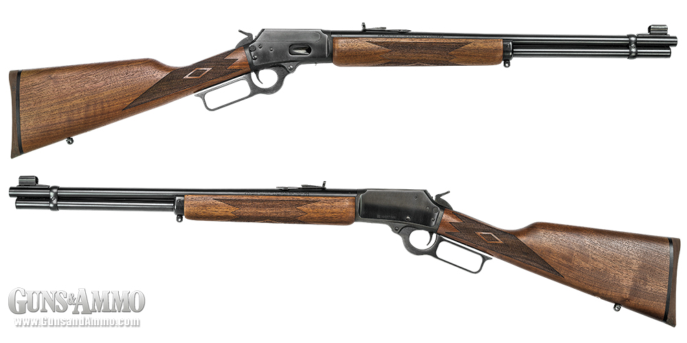 Left- and right-side overview of the Marlin 1894.