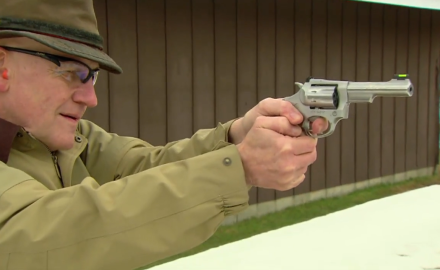 Dick Metcalf meets up with the good people of Ruger to talk about the revamped SP101 .22 revolver.