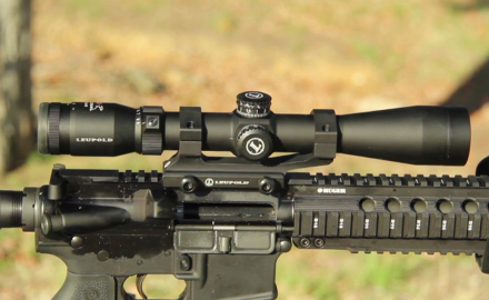 Kyle Lamb and Craig Boddington are playing around with the versatile Leupold VXR Patrol scope.