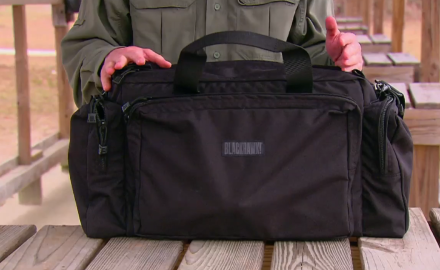 We cover the finer points of the Blackhawk Enhanced Pro Shooter's Bag.