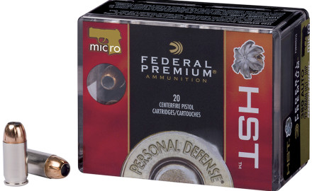 Think you can't find something good to feed that .380 micro pistol of yours? Think again.  Federal