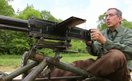 David Fortier and Patrick Sweeney discuss the Italian machine gun used in the