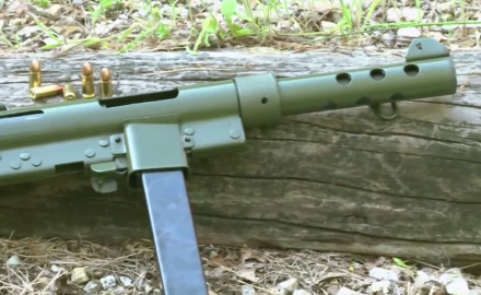 Patrick Sweeney and David Fortier take a look at the Swedish K full auto rifle.