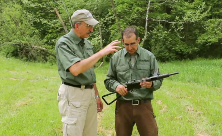 Patrick Sweeney and David Fortier take a look at the British Sten Gun.