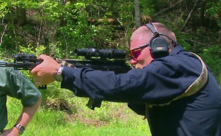 We discuss the importance of practicing offhand shooting.