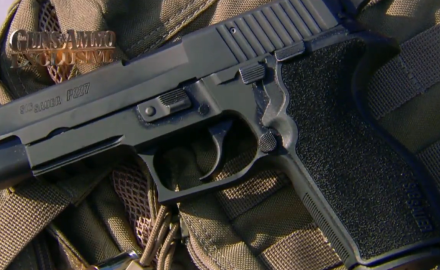 Patrick Sweeney is at the SIG Academy where he's trying out the P227 double-stack .45.