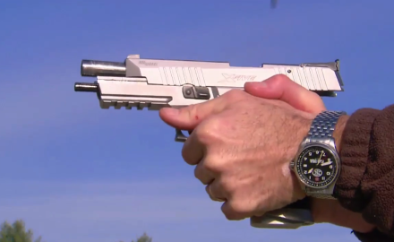 Patrick Sweeney meets up with the folks at SIG to talk about the new and improved SIGSauer X5.