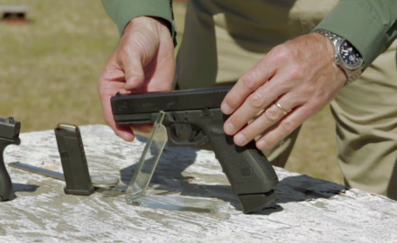 Guns & Ammo tests the Glock 42 chambered in .380 ACP at the range.