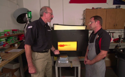 Patrick Sweeney talks with Jeff Hoffman of Black Hills Ammunition about the Barnes 140 grain Tac-XP S & W load.