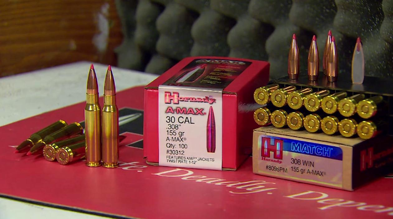 Hornady A-Max Ammunition