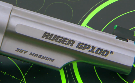 We get on the range with the new Ruger GP100 Match Champion .357 Magnum revolver.