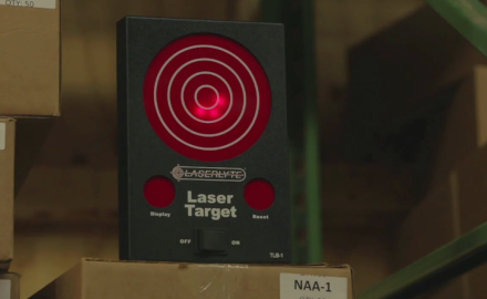 James Tarr and LaserLyte's Aaron Moore show you how to have fun with lasers-maybe even during your