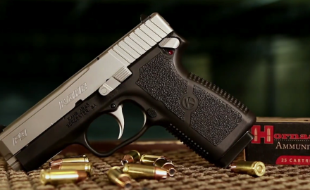 Patrick Sweeney and Todd Rassa highlight the Kahr P9 9mm pistol with extra features.