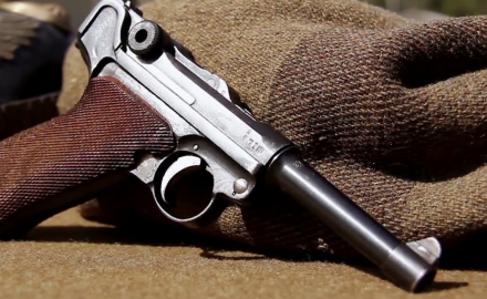 Garry James and Craig Boddington feature one of the most recognizable pistols of all time...the Luger.