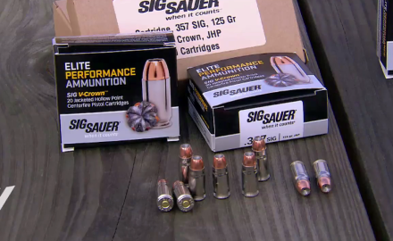 In this Guns & Ammo exclusive, we are the first to range test SigSauer's new premium ammo and