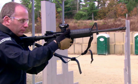 Our experts work on advanced tactical rifle training.