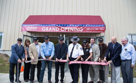On Aug. 11, Kahr Arms officially became a Pennsylvania company.  Its new corporate headquarters, on