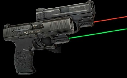 The new LaserMax Spartan Laser Series, available in both red and green, offers several