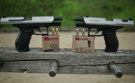 We check out Magnum Research's 9mm and .40 Baby Eagles.