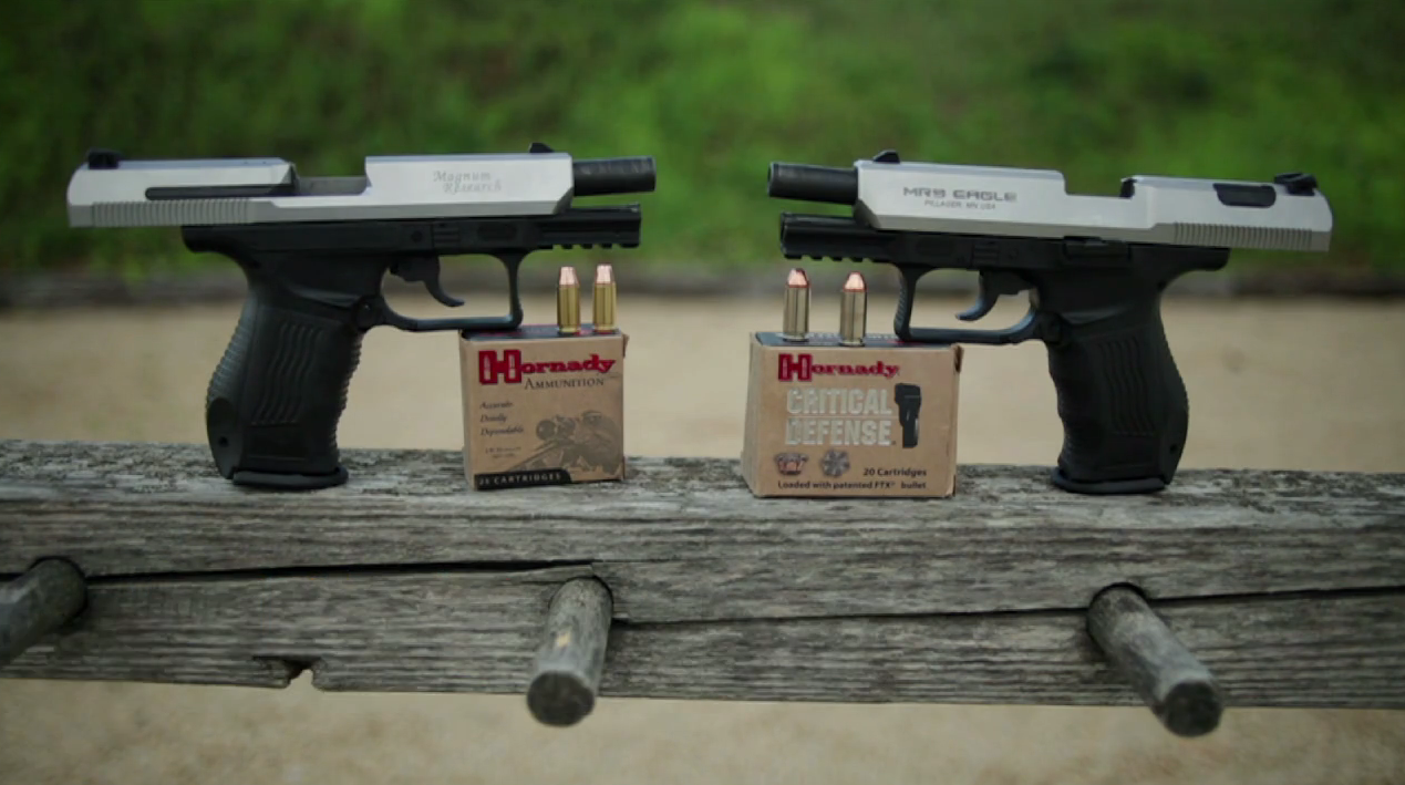 Magnum Research 9mm & .40 Eagles