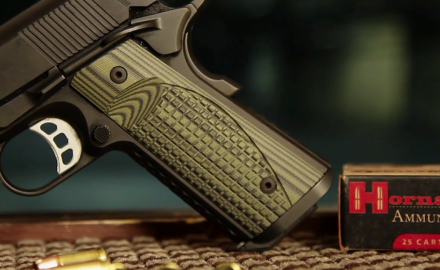 Patrick Sweeney and James Tarr review the Heinie Signature Model 1911.