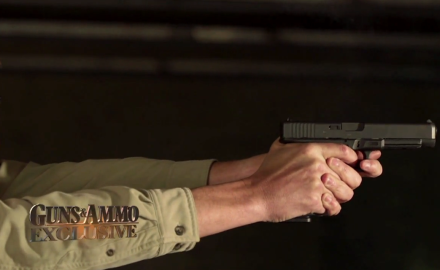 Glock introduces the a new .45 semiauto pistol known as the G41 that is built with competition