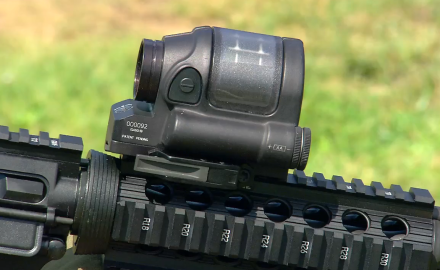 We take a look at Trijicon's SRS solar powered sight.