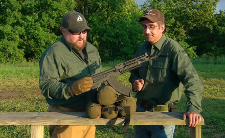 Our editors examine the pistol configured short barrel Hellpup from Inter Ordnance.