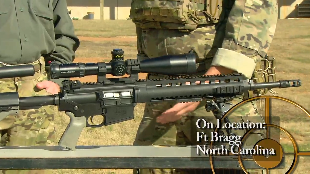 Green Beret Tactics: Gear of the Sniper