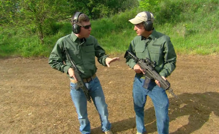 G&A editors have some full auto fun out on the range.