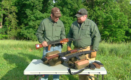 David Fortier reviews a modern day M1 carbine and U.S.-made AK's.