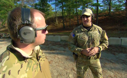 We head to Ft. Bragg, NC to go back to basics using the 3 inch, 6 inch and VTAC Training drills.
